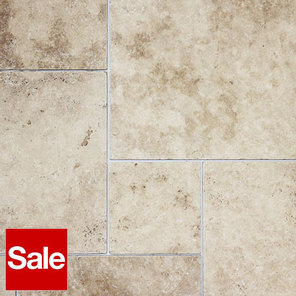 French Pattern Travertine Tiles Classic